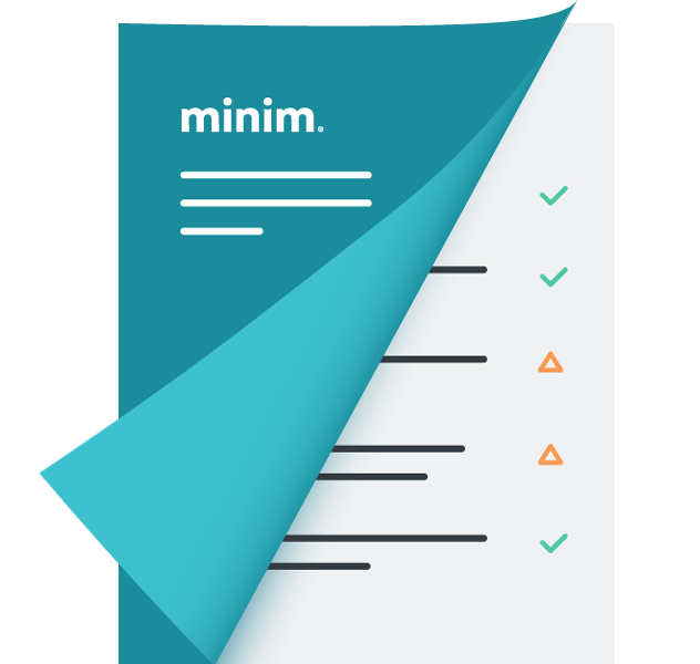 Minim Remote Scorecard